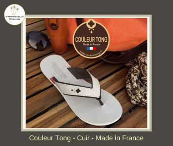 tong en cuir made in France grenoble vinay